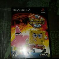 SpongeBob SquarePants Movie (Sony PlayStation 2, 2004) Complete - Tested