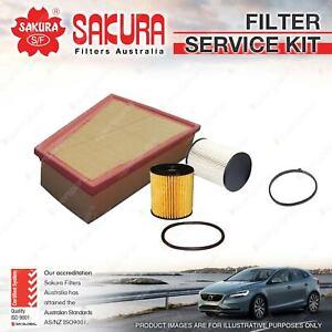 Sakura Oil Air Fuel Filter Service Kit for Ford Mondeo MA MB MC TDCi 2007-2014