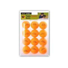 Table Tennis - Balls - 3-Stern - Orange - 12 Piece