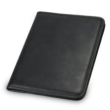 Portfolio Binder Leather Business Professional Folder Notepad Holder