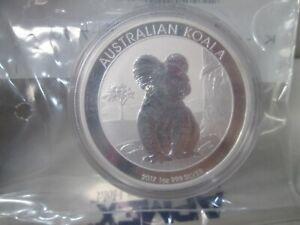 2017 Australia Koala .999 Silver 1 Ounce Dollar Coin APMEX BU
