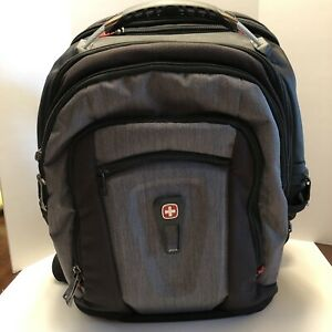Swissgear Wenger Laptop Backpack School Travel Bag Carry On Black  Free Shipping
