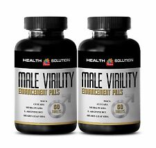 Dietary Supplement - MALE VIRILITY ENHANCEMENT Pills - sexual control - 2 B, 120