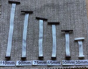Upholstery Button Tapes for Tape Back Buttons 30mm, 50mm, 65mm, 75mm, 90mm,110mm