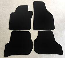 Fußmatten Autoteppiche für Skoda Octavia 2 Typ 1Z 2004-2011 schwarz Velours Neu