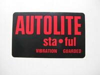 Autolite Battery Sta-ful Side Decal XR XT XW XY GS GT HO Falcon Phase 1 2 3
