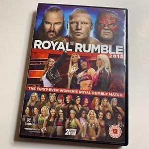 WWE Wrestling Royal Rumble 2018 DVD (2018) Brock Lesnar Ronda Rousey 2 Discs