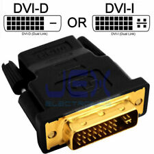 Male DVI to Female HDMI Converter PC to TV Projector Monitor Adapter