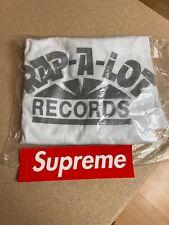 SUPREME Rap-A-Lot Records Tee L Geto Boys Bushwick Bill cdg box logo RARE NEW