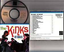 THE KINKS -Hit Singles CD -1987 PRT Records W.GERMANY RARE (Best Of/Greatest)