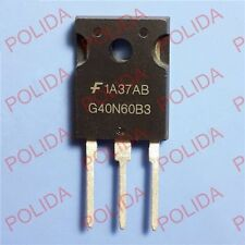 10PCS IGBT Transistor FAIRCHILD/INTERSIL/HARRIS TO-247 HGTG40N60B3 G40N60B3