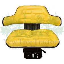 Tractor Dumper Seat Forklift  Plant mower Universal SuspensionYelow good quality