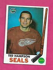 1969-70 TOPPS  # 86 SEALS TED HAMPSON EX  CARD (INV# C3724)