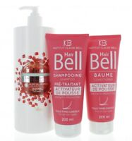 Hair Mask Hyaluronic Acid 1000ml + Hairbell Shampoo & Conditioner 2x200ml Hare