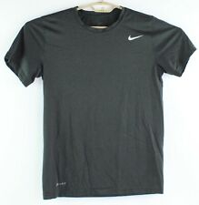 Nike Drit Fit Mens Size Small Charcoal Gray Tee T Shirt