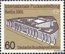 Berlin (West) 649 (complete.issue) used 1981 International Funk