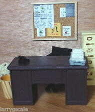 Bulletin Board Corkboard Miniature 1/24 Scale G Scale Diorama Accessory Item