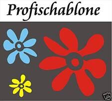 SCHABLONE, MALERSCHABLONE, WANDSCHABLONE, STUPFSCHABLONE, DEKO, FLOWERPOWER 2