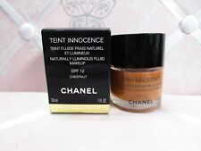 CHANEL ~ TEINT INNOCENCE NATURALLY LUMINOUS FLUID MAKEUP ~ CEDAR ~ 1 OZ BOXED