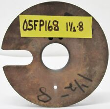 "5-1/8"" Lathe Face Plate 1-1/2"" – 8 Mount 1-1/4"" Thru Hole"