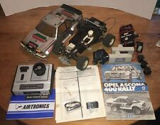 Vintage Tamiya Opel Ascona Rc Car Lot Radio Remote Control 1/10 Scale