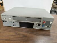 Sony SVO-1430 VHS VCR Professional Video Cassette Recorder