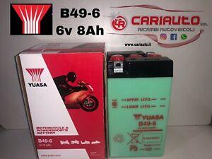 Batteria YUASA B49-6 di Primo Impianto 6v 8AH(10HR) ABS