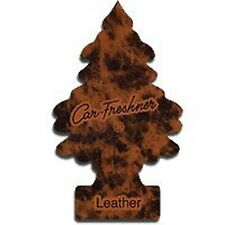 Magic Tree Car Air Freshener Duo Gift 2 Pack Leather And Forest Fresh