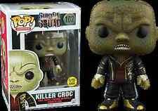 SUICIDE SQUAD POP VINYL KILLER CROC glow in the dark #102 Funko DC Comics GITD