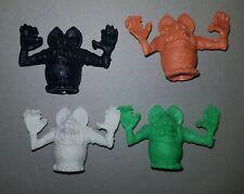 4 RAT FINK figures VINTAGE ARGENTINA PLASTIC PVC RARE MONSTER cereal premium toy