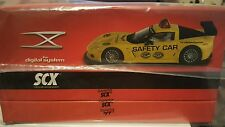 scx digital corvette safety car c6r