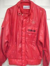TRANS AM Formula 1 Grand Prix Motorcross Pontiac Red Zip Jacket Int'l Race Rally