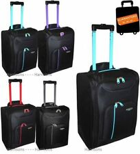 Unbranded Soft Travel Bags & Hand Upright (2) Wheels Luggage