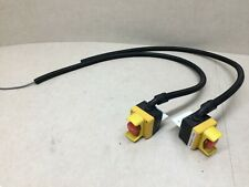 Lot Of 2 Idec Fb Control Boxes With Pigtail Amp Angle Mount Emergency Stop Button