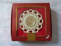 Lenox Snow Lights Shine Votive Candle tealight Fine china w/ box (C-1)