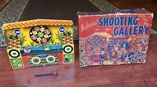 Vintage WYANDOTTE MECHANICAL SHOOTING GALLERY NO. 3907 ALL METAL IN BOX WORKS !!