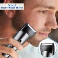3 en 1 Rechargeable Électrique Tondeuse Cheveux nez Barbe Hommes Rasoir Sans Fil