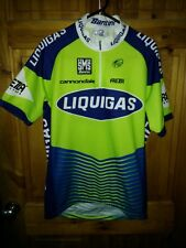 """SMS Santini Cannondale Liquigas s/s road racing cycling team jersey 38"""" M Sagan"""