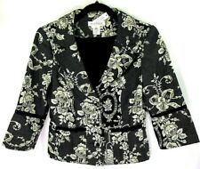 Cropped Floral Jacket White House Black Market Size 4