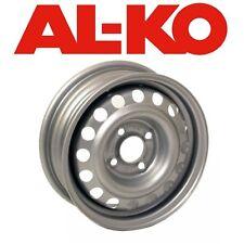 """al-ko 4.5j 4 stud 13"""" b + b rad silber (5 1/2"""" pcd) - wohnwagen/anhänger"""