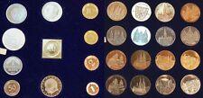 1Pf. bis 5 DM mit 10 Pf.-Klippe Gold 1969-71 Spezial Sondersatz VDM in PP