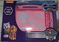 Paw Patrol Magnetic Scribbler Doodle Drawing Board w Magnetic Stamps Pen Stencil