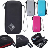 Storage Carry Hard Case Bag Pouch For Texas Instruments TI-84 Plus CE Calculator