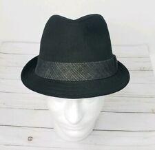 ... Fedora Hat - Mens M L. Levis Black Denim Banded Fedora Hat - Mens M L.  C  29.18. FEDORA UJJ BLACK Size S Denim Jean Trilby BUCKET Sunvisor CAP Sun  Viso ... ff10b7c05e5f