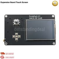 """PortaPack H1 2.8"""" Expansion Board Touch Screen 0.5PPM TCXO Clock For HackRF One"""