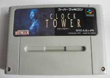 CLOCK TOWER Super famicom SFC japan