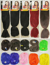 Synthetic Hair Dreadlock Braid 2 Styles: Super Jumbo or Heat Resistant Colors