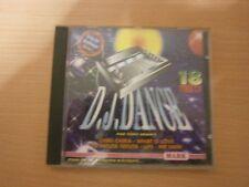 CD AUDIO - D.J.DANCE - PAR TONY BRAM'S - VOL 1  - réf cd4