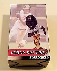 Rochester Red Wings Minnesota Twins Byron Buxton cheetah leg bobblehead sga 1000