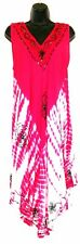 True Rock Summer Spring Tie Dye Sequin Pink White Dress Fits All Free One Size